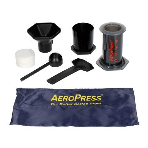AEROPRESS dugattyús kávékészítő hordtáskával
