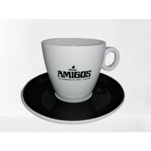 AMIGOS cappuccino csésze + alátét