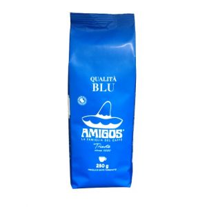 AMIGOS QUALITA BLU szemes kávé 250g