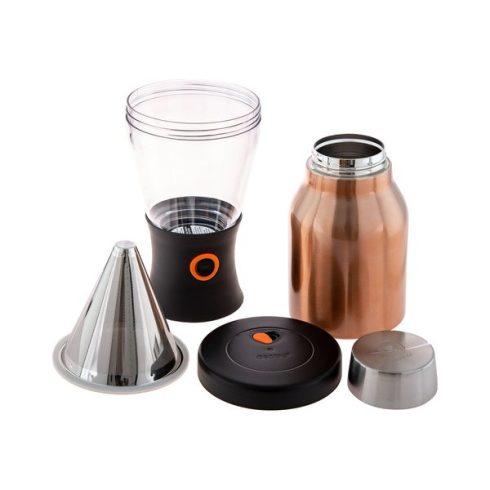 ASOBU - Hideg filterkávé készítő és tároló termosz - rozsdamentes acél