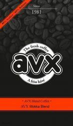 AVX Mokka francia pörkölésű szemes kávé 300g