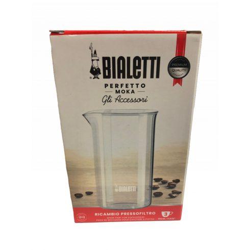BIALETTI french press dugattyús kávéfőző, kávékészítő 350ml-hez tartalék üveg