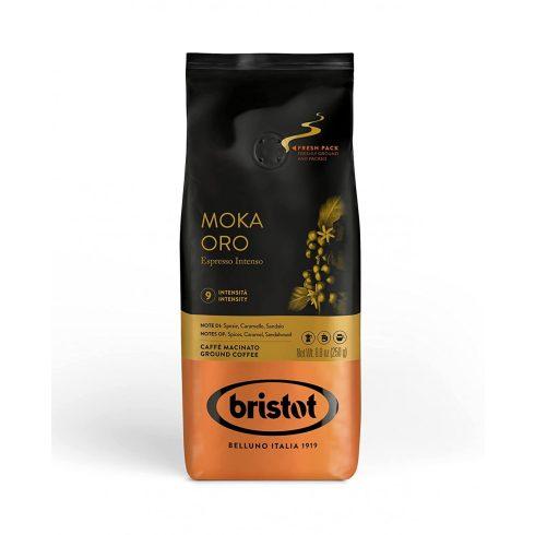 BRISTOT Diamante Moka Oro őrölt kávé szelepes 250g