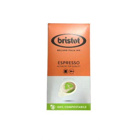 Bristot Espresso kávépod, ESE pod 18x7g