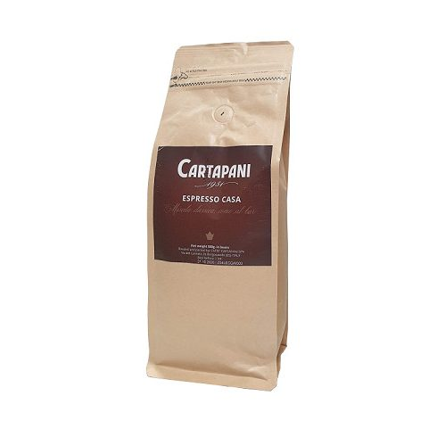 CARTAPANI ESPRESSO CASA szemes kávé 500g