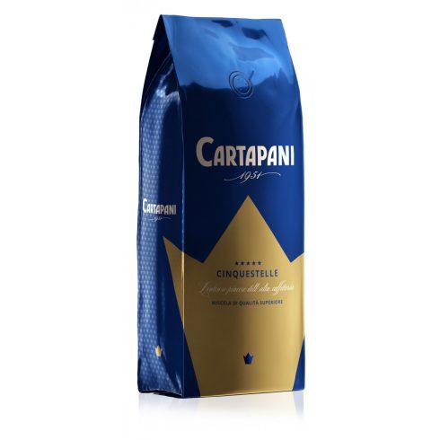 CARTAPANI CINQUESTELLE szemes kávé 1000g