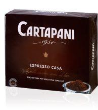CARTAPANI ESPRESSO CASA őrölt kávé 2 x 250g