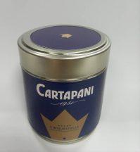 CARTAPANI CINQUESTELLE szemes kávé fémdobozban 125g - új