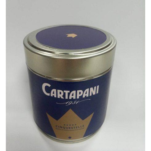 CARTAPANI CINQUESTELLE szemes kávé fémdobozban 125g