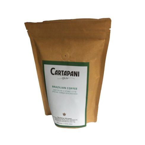 CARTAPANI BRAZIL SANTOS CERESA DESCASCADO single origin szemes kávé 250g