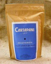 CARTAPANI Decaffeinato koffeinmentes szemes kávé 250g