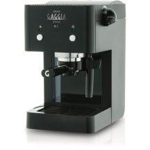 Gaggia Gran Gaggia Style fekete kávéfőző gép