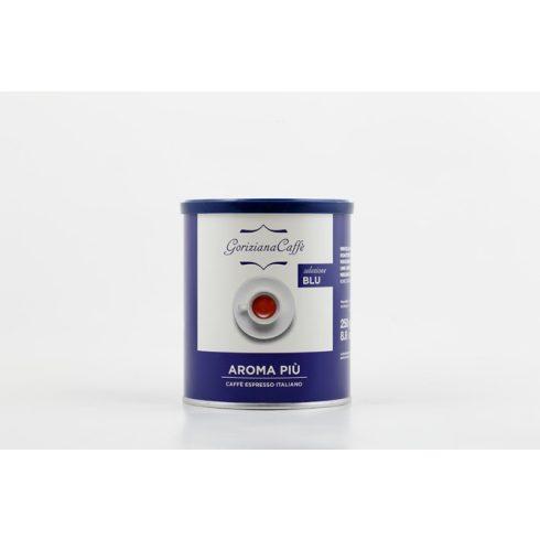 GORIZIANA CAFFÉ Aroma Piú  őrölt kávé fémdobozos 250g