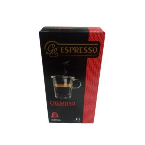 Goriziana Espresso CREMOSO kávékapszula 10x5,6g