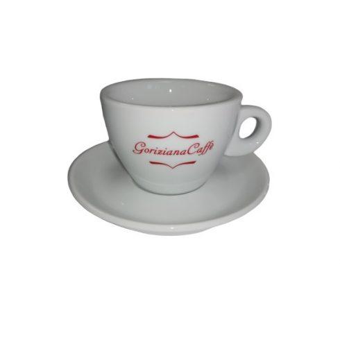 GORIZIANA cappuccino csésze és alj