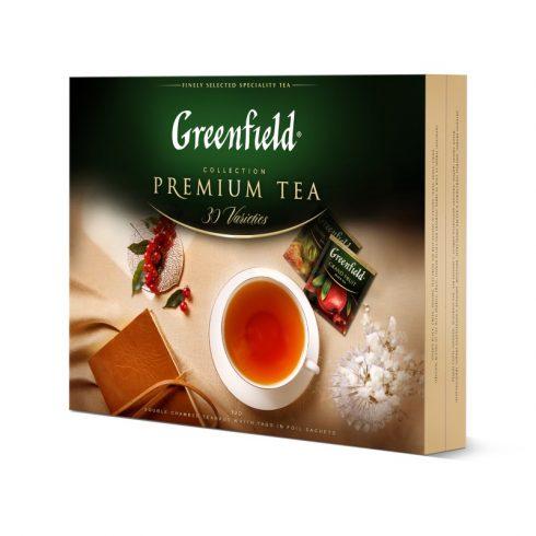 GREENFIELD ajándékcsomag 30 féle filteres tea 120db filterrel