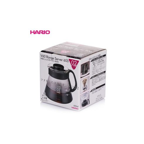 HARIO RANGE SERVER V60-02 MICROWAVE-600ml