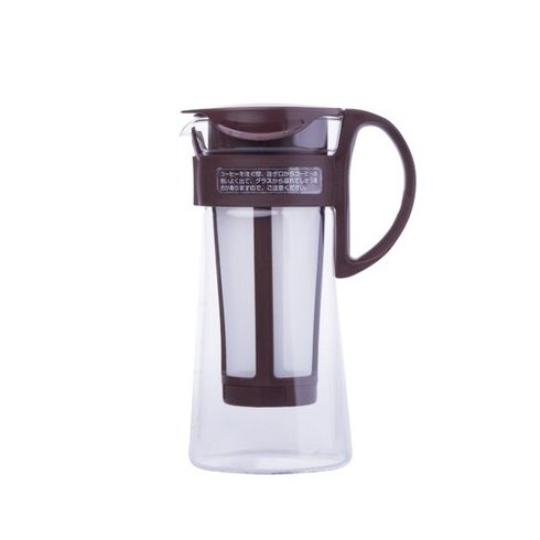 HARIO Mizudashi Coffee Pot mini - hideg kávékészítő kancsó barna 600ml