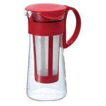 HARIO Mizudashi Coffee Pot mini - hideg kávékészítő kancsó piros 600ml