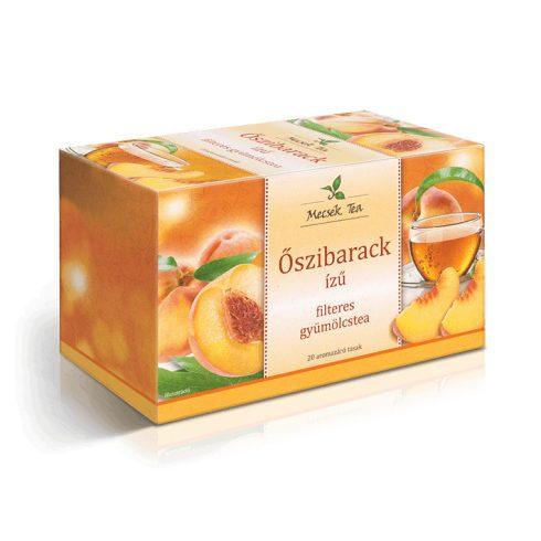 Mecsek Tea Őszibarack gyümölcstea 20x2g