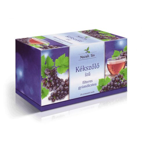 Mecsek Tea Kékszőlő gyümölcstea 20x2g