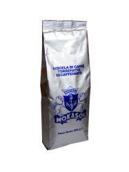 MOKASOL DECAFFEINATO koffeinmentes szemes kávé 250g