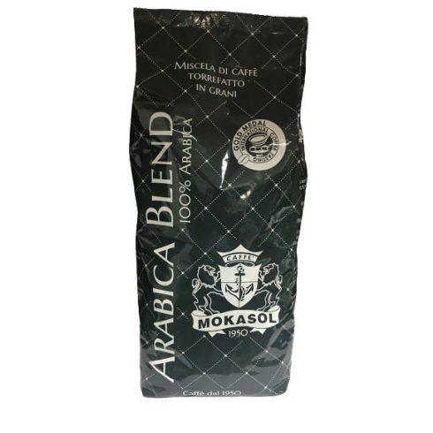 MOKASOL ARABICA szemes kávé 1000g