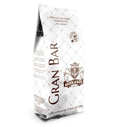 MOKASOL GRAN BAR szemes kávé 1000g