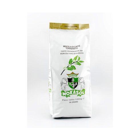 MOKASOL ORGANIC BLEND szemes kávé 1000g