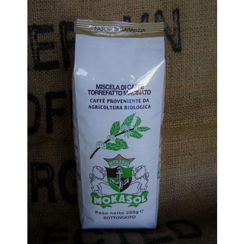 MOKASOL ORGANIC BLEND szemes kávé 250g