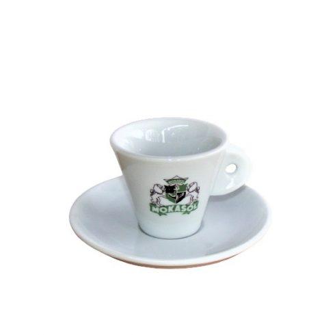 Mokasol kávés csésze + alj
