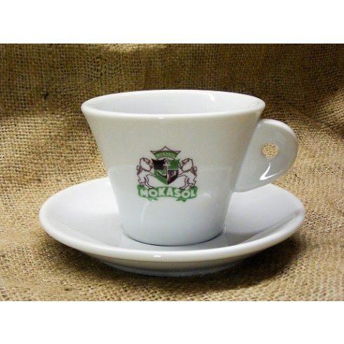 MOKASOL cappuccino csésze és alj