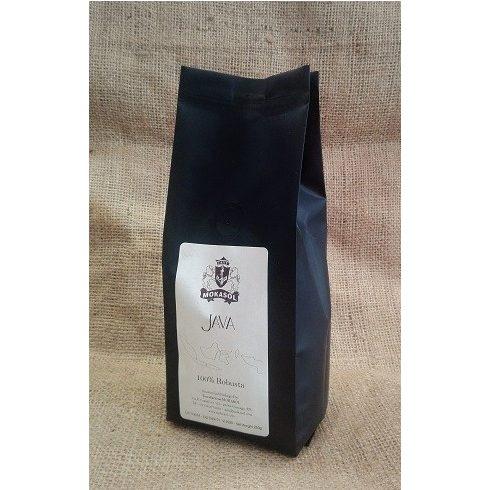 MOKASOL JAVA 100% robusta single origin szemes kávé 250g Friss