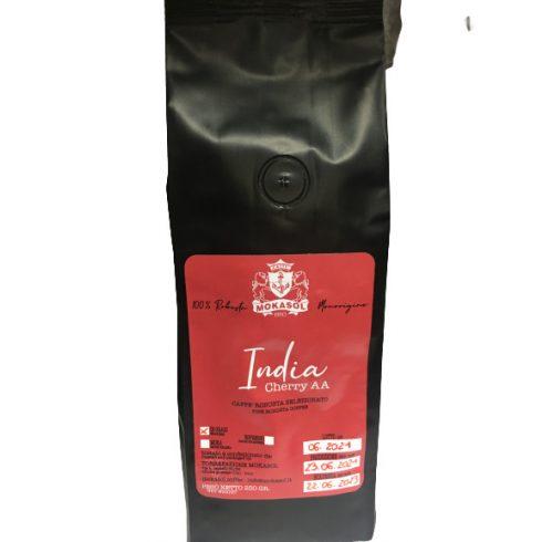 MOKASOL INDIA CHERRY 100% robusta single origin szemes kávé 250g