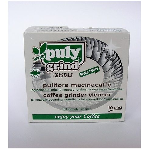Kávédaráló, kávéőrlő tisztító granulátum Puly Grind 10 x 15g
