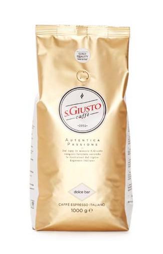 SAN GIUSTO BAR szemes kávé 1000g