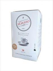 S.GIUSTO DOLCE BAR kávé pod 18x7g