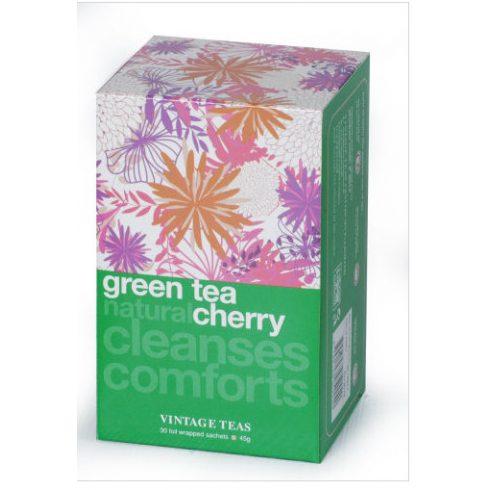VINTAGE TEAS - Zöld tea cseresznyével