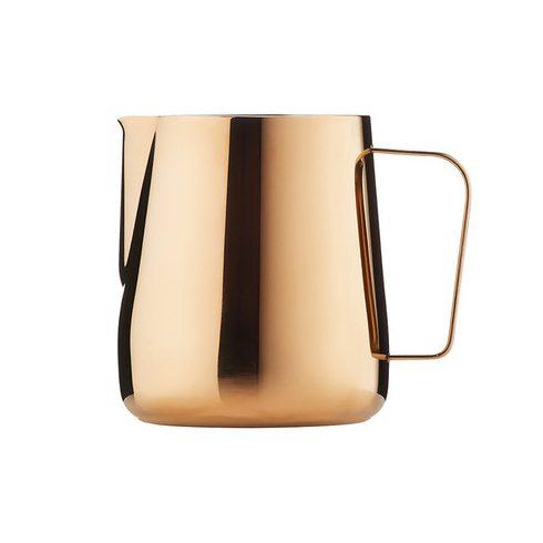 BARISTA & CO réz színű, mércés tejhabosító, tejkiöntő kancsó 420ml