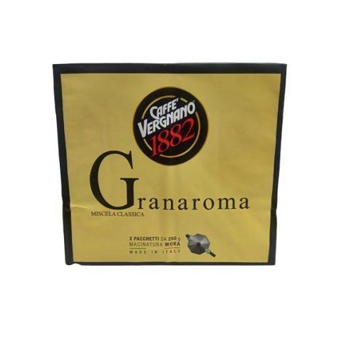 VERGNANO Gran aroma őrölt kávé 2 x 250g