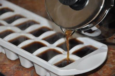 Kávé jégkocka