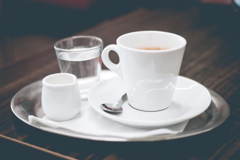 Kávé és víz