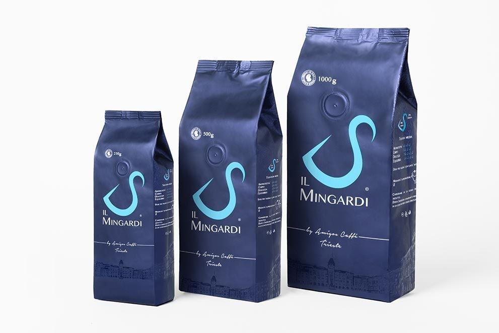 Il Mingardi szemes és őrölt kávék