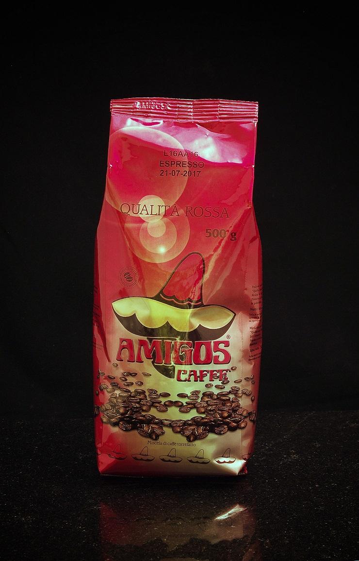 Amigos Qualita Rossa szemes kávé