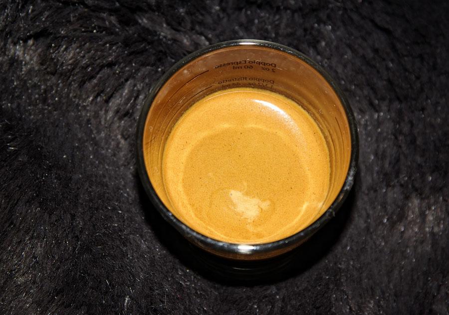 Amigos – Qualità Extra Bar - egy csésze eszpresszo - kávéteszt
