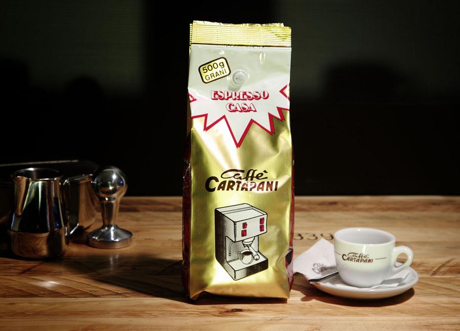 Cartapani Casa szemes kávé 500 gramm