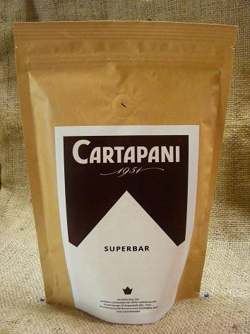 CARTAPANI SUPERBAR szemes kávé 250g