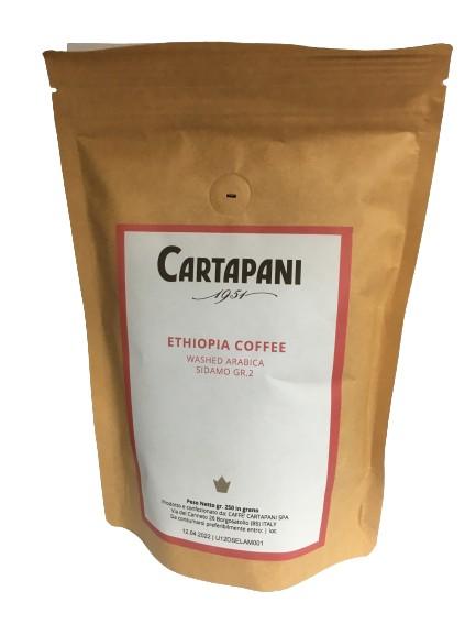 CARTAPANI ETHIOPIA SIDAMO GR.2 single origin szemes kávé 250g - utolsó darab