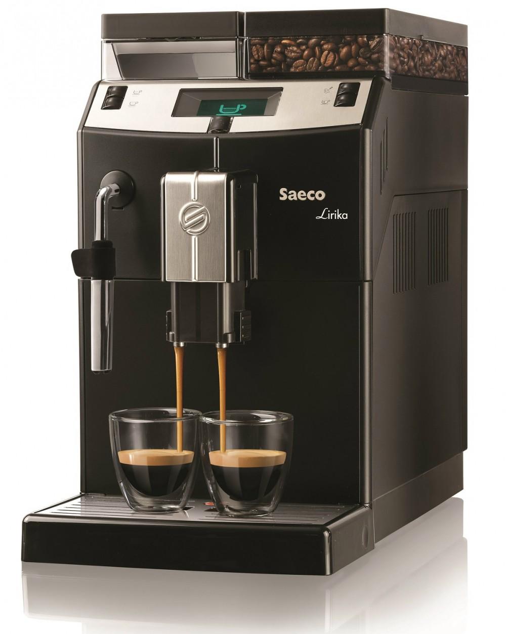 SAECO LRC Lirika fekete automata kávégép