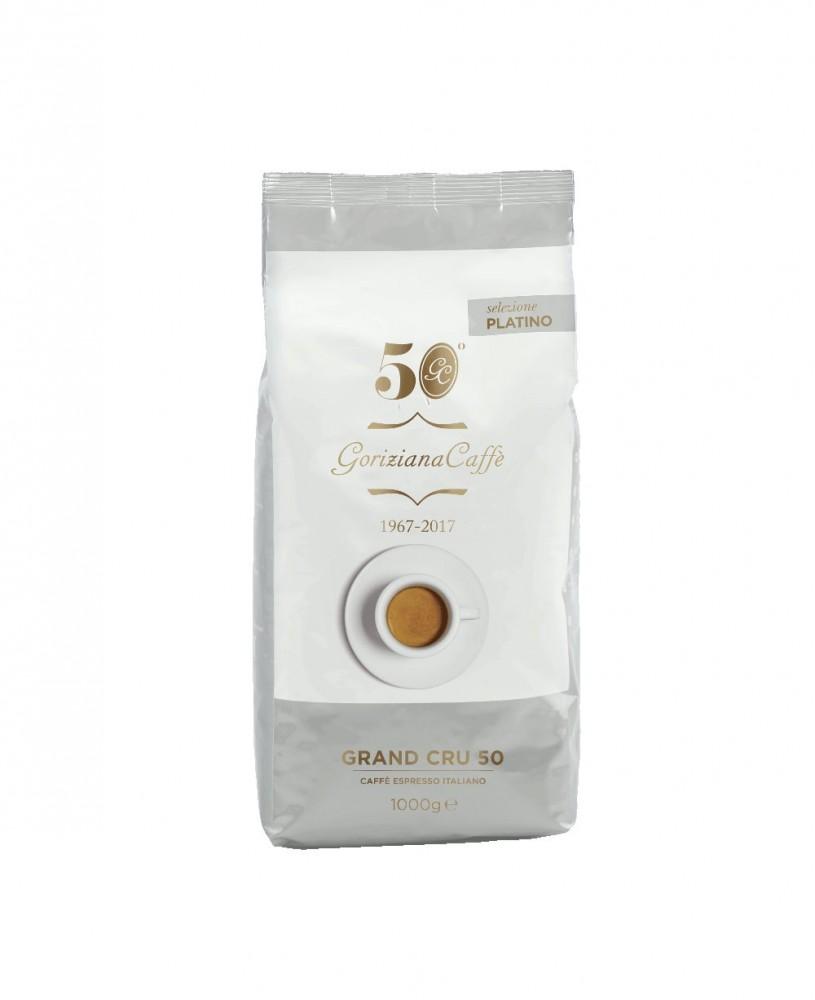 GORIZIANA CAFFÉ Grand Cru 50 szemes kávé 1000g- Selezione Platino